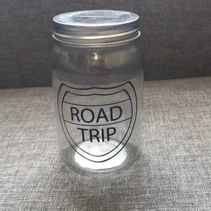 """Road Trip"" Mason Jar Bank 🚘 💰"
